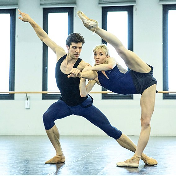 Melissa Hamilton and Roberto Bolle2