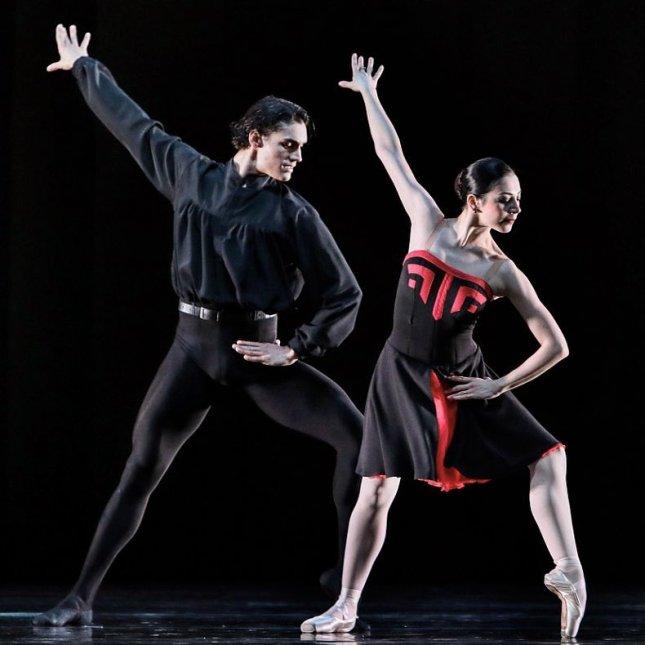 Maia Makhateli and Daniel Camargo