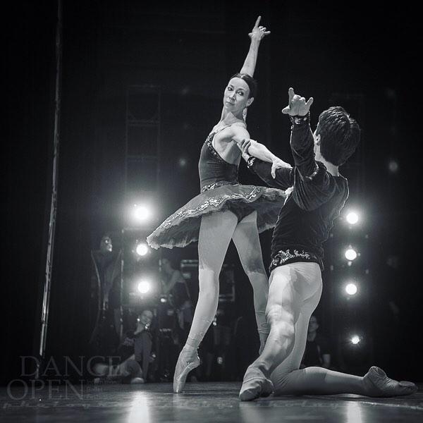 Viktoria Tereshkina and Timur Askerov