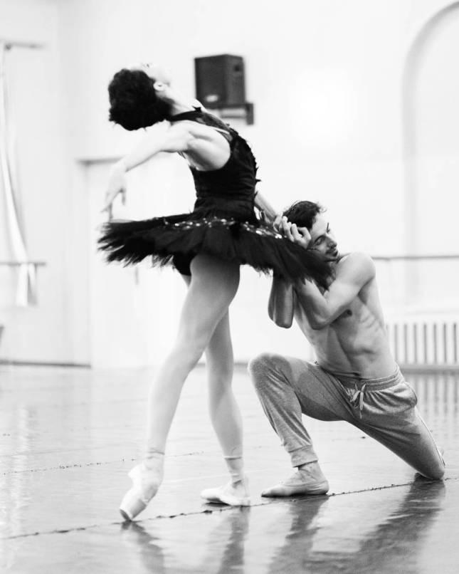 Petra Conti and Aleksandr Stoianov