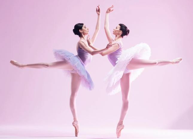 Anna Grigoryan and Anastasia Ershova