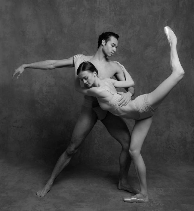Andrea Lassakova and Adrian Blake Mitchell